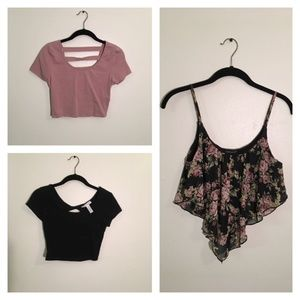 Crop Top Bundle of 3
